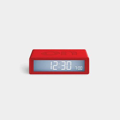 LEXON Flip Travel Clock Rood LR151R9