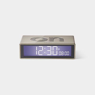 LEXON Flip Clock RCC Glossy Goud LR150D9
