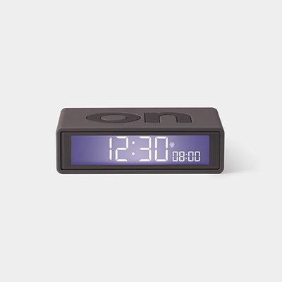 LEXON Flip Clock RCC Rubber Grijs LR150G3