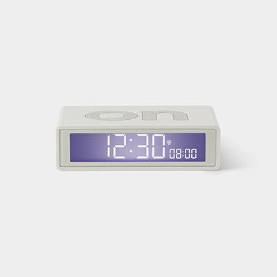 LEXON Flip Clock RCC Rubber Wit LR150W9
