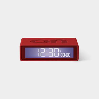 LEXON Flip Clock RCC Rubber Rood LR150R9