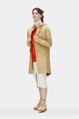 Rains Regenjas Long Jacket unisex desert 1202-30