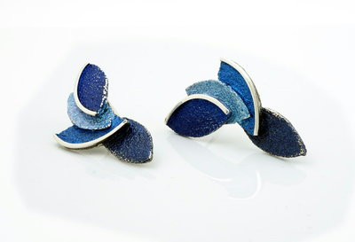 Arior Eire oorbellen blauw