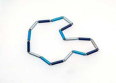 Apero collier 5.01 Blauw 45 cm