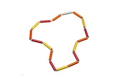 Apero collier 5.01 Oranje 45 cm