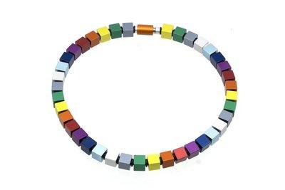 Apero collier 5.06 Rainbow 50 cm