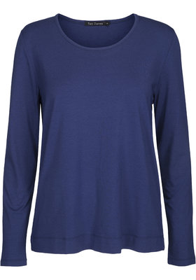 Two Danes Betty shirt lange mouw blauw 25511-272