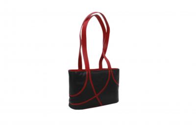 Krista's Lahti liggend zwart, rood