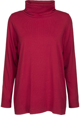 Two Danes Benedicte colpulli shirt chili rood 25531-258