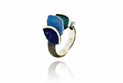 Arior Smile ring blauw