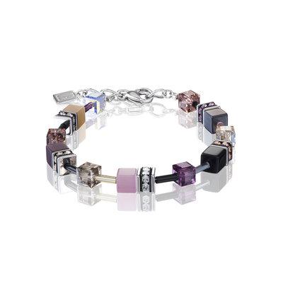 Coeur de Lion Armband 2838/ /0838 Purple-Rose