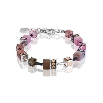 Coeur de Lion Armband 2838/ /1119 Brown-Rose