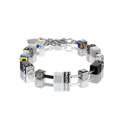 Coeur de Lion Armband 4014/ /1412 White-Grey