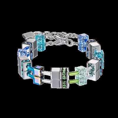 Coeur de Lion Armband 4015/ /0705 Blue-Green