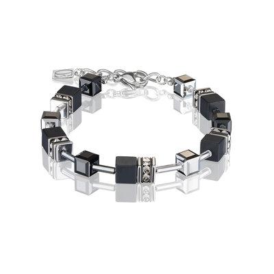 Coeur de Lion Armband 4018/ /1317 Black-Silver