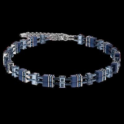 Coeur de Lion Ketting 4322/ /0722 Navy Blue