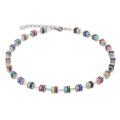 Coeur de Lion Ketting 4409/ /1522 Multicolor Pastel
