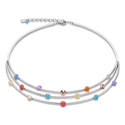 Coeur de Lion Ketting 4917/ /1522 Multicolor Pastel