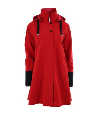 Blaest regenjas model Firenze rood