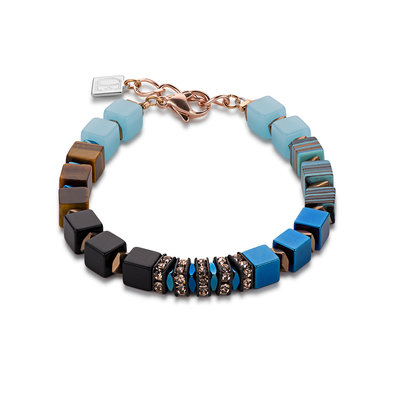 Coeur de Lion Armband 4830/ /0607 blauw