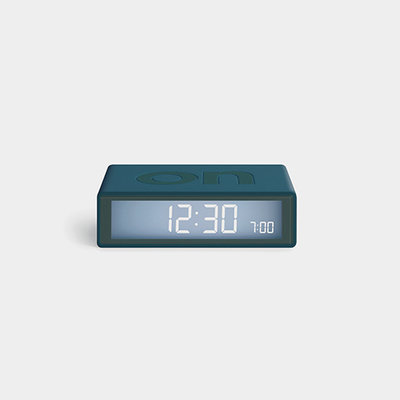 LEXON Flip Travel Clock Duck Blauw LR151BF9