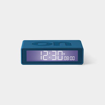 LEXON Flip Clock RCC Rubber Duck Blauw LR150BF9