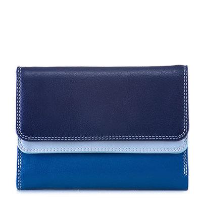MyWalit Double Flap Wallet Denim250-130