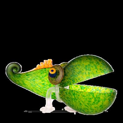 Glasstudio Borowski Chameleon Big Green