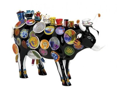 Cow Parade 26304 XL The Moo Potter