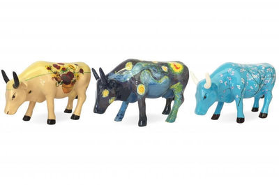 Cow Parade 46601 CowParade Collectables Artpack Van Gogh