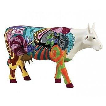 Cow Parade 46750 L Picowso's School for the Arts