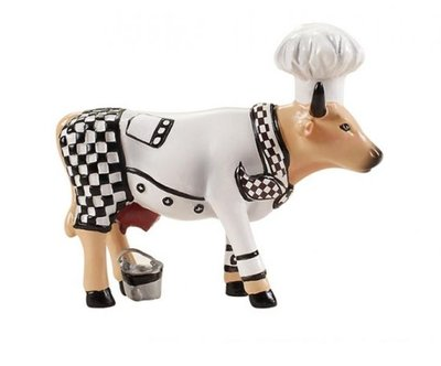 Cow Parade 46583 S Chef Cow