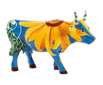 Cow Parade 47845 M Udderly Sunflowers