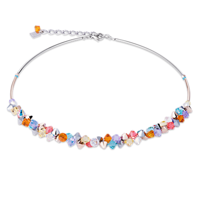 Coeur de Lion Ketting 4938/ /1522 Multicolor Pastel 1