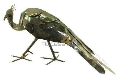 Metalen pauw (pauwin), metalen vogel | Birdwoods