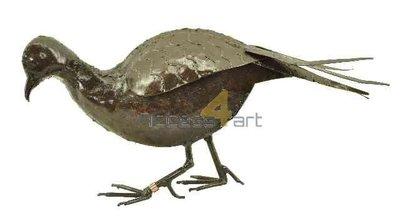 Metalen fazant, metalen vogel vrouwtje| Birdwoods