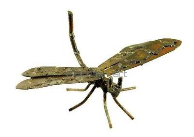 Metalen libelle staand, metalen vogel | Birdwoods