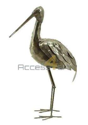 Metalen grutto staand, metalen vogel | Birdwoods