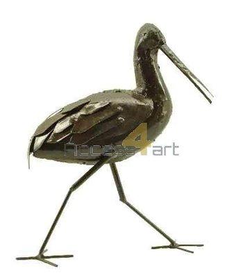 Metalen grutto lopend, metalen vogel | Birdwoods