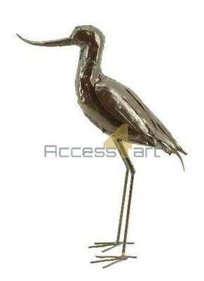 Metalen kluut staand, metalen vogel | Birdwoods