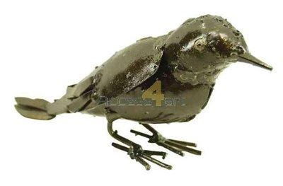 Metalen mus, metalen vogel | Birdwoods