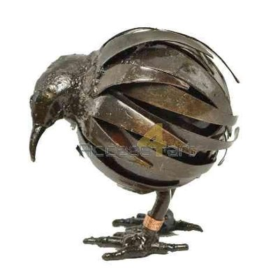 Metalen kiwi, metalen vogel | Birdwoods