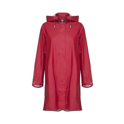 Ilse Jacobsen Rain Coat 71-303 Deep red