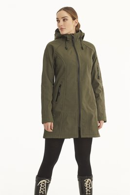 Ilse Jacobsen Rain Coat 37B 410210 Army