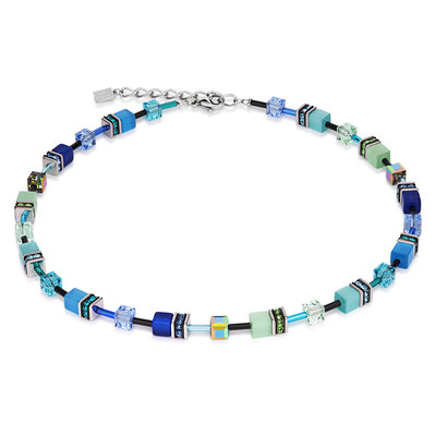 Coeur de Lion Ketting 2838/ /0705 Blue-Green