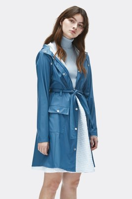 Rains Regenjas Curve Jacket faded blue 1206-42