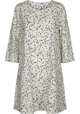 Two Danes jurk Thorid grijs/zand