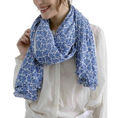 Zen Ethic Sjaal Judith 110x180 cm blauw