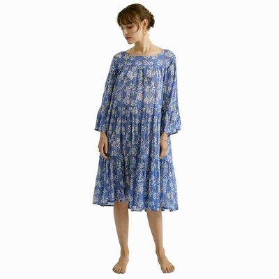 Zen Ethic zomerjurk Wendy Brune blauw