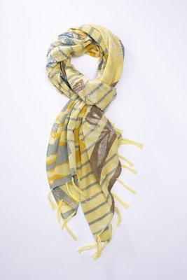 Oska sjaal 130SPROUT geel
